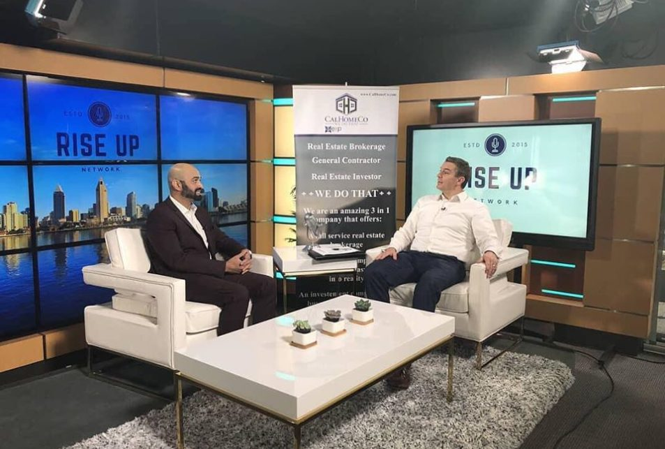 rise up radio interview with henish pulickal and james carmody